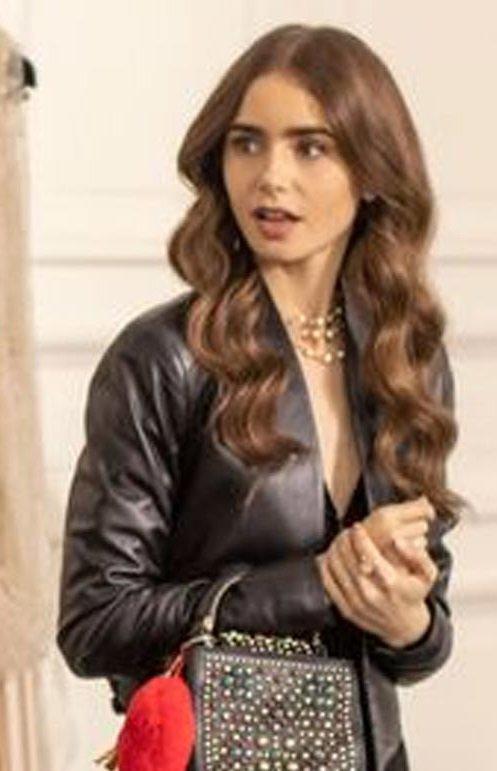 Emily Cooper Emily In Paris Black Jacket 2