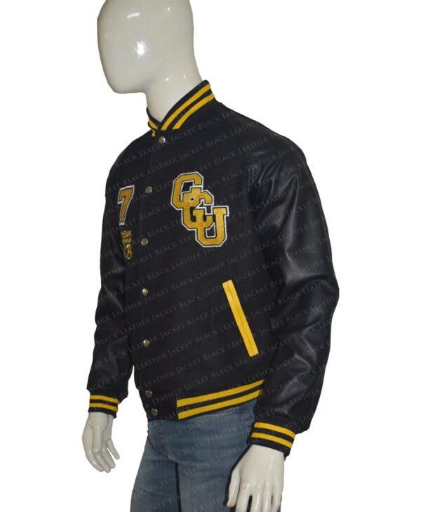 Justice League Cyborg Gotham City Jacket Side