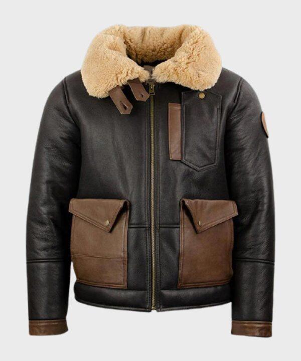 Bomber Black B3 Jacket