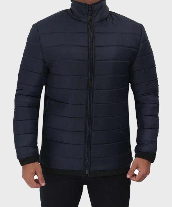 Puffer Dark Men's Blue Jacket
