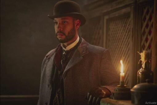 Royce Pierreson The Irregulars John Watson Grey Coat