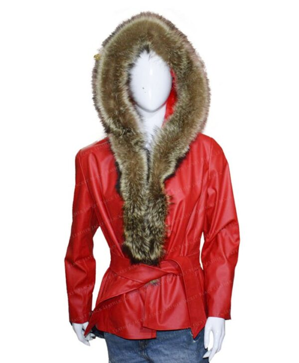 The Christmas Chronicles Mrs Claus Red Parka Jacket