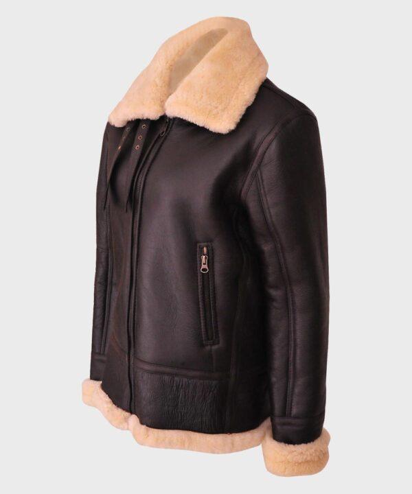 Aviator Women's Brown B3 Leather Jacket