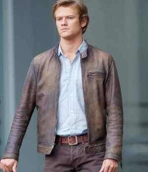MacGyver Angus Distressed Silver Jacket