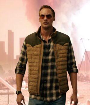 Alexander Skarsgard Godzilla vs Kong Puffer Vest