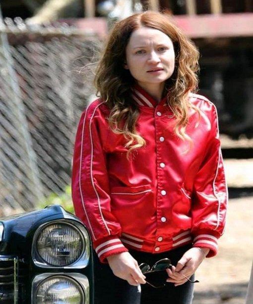 American Gods S02 Laura Moon Satin Jacket