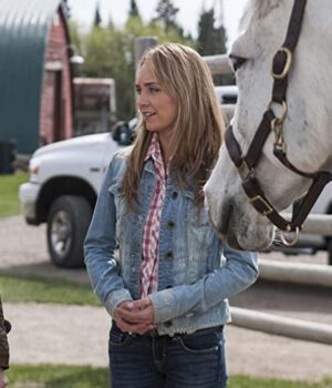 Amy Fleming Heartland Denim Blue Jacket