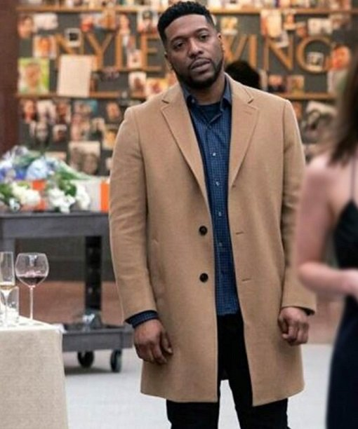 New Amsterdam Dr. Floyd Reynolds Wool-Blend Coat