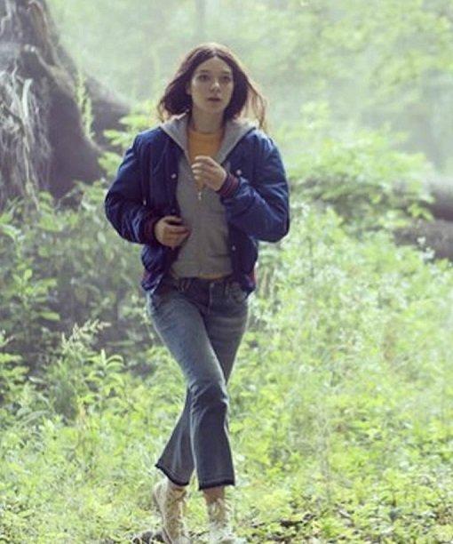 Hanna Esme Creed Miles Parachute Blue Jacket