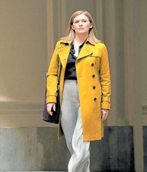 Marissa Hanna Yellow Cotton Coat