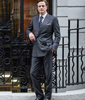 Harry Hart Kingsman The Secret Service Grey Suit