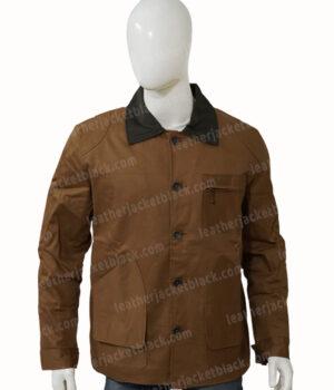 Heartland Jack Bartlett Cotton Brown Jacket Front