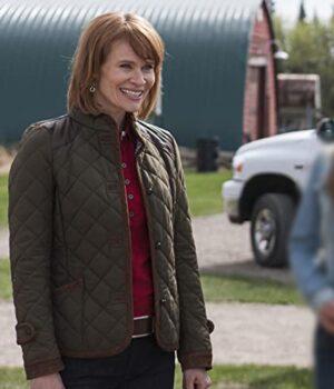 Heartland Kendra Green Cotton Jacket