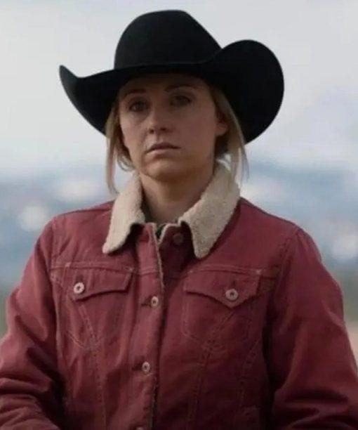 Heartland S14 Amy Fleming Corduroy Jacket