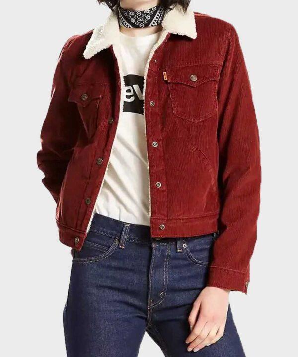 Amy Fleming Corduroy Jacket