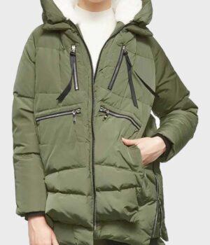 Heartland S14 Parker Green Parachute Jacket