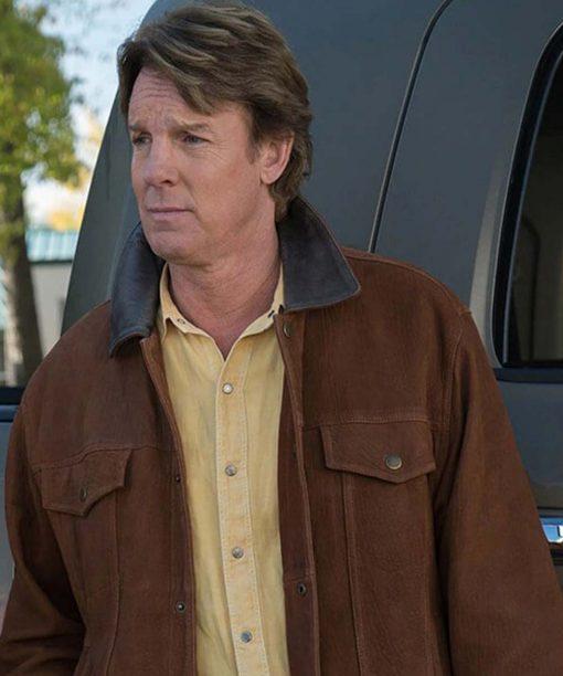 Heartland Tim Fleming Suede Leather Jacket