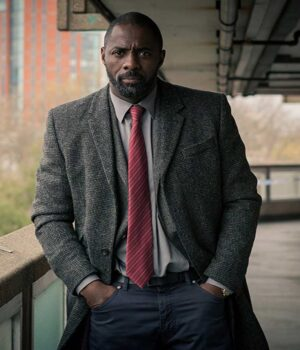 Idris Elba Luther TV Series John Luther Trench Coat