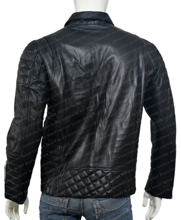 Kay Michael Biker Quilted Jacket back