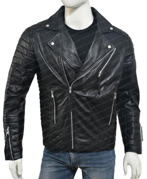 Kay Michael Biker Quilted Jacket main