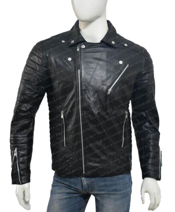Kay Michael Biker Quilted Jacket main2