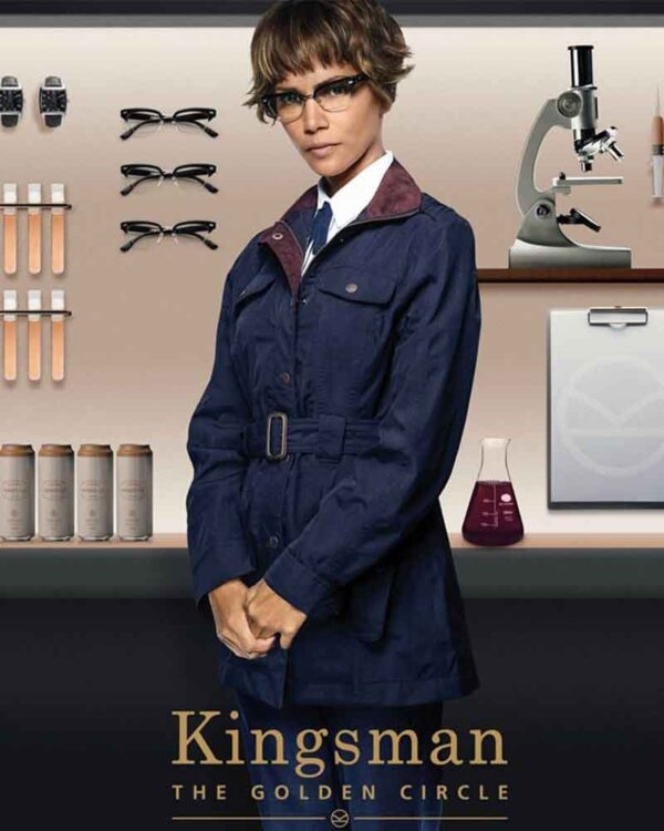 Kingsman Halle Berry Ginger Ale Berry Blue Coat