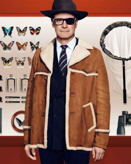 Kingsman Harry Hart Fur Collar Jacket