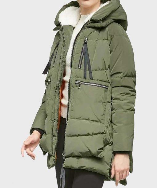 Green Parachute Jacket