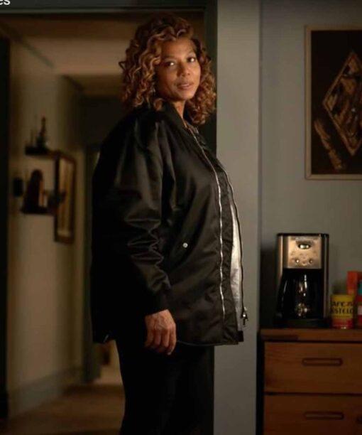 Queen Latifah The Equalizer Black Jacket