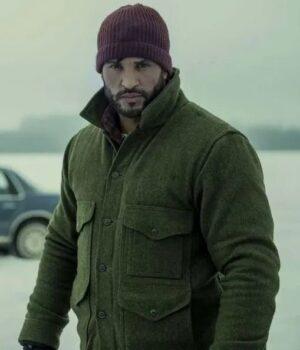 Ricky Whittle TV Series American Gods S03 Wool Jacket