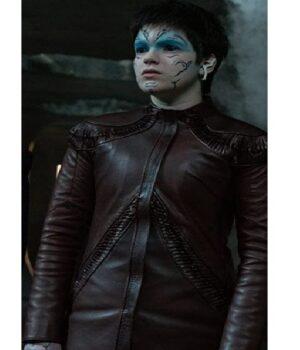 Adira Tal Star Trek Discovery Brown Leather Jacket