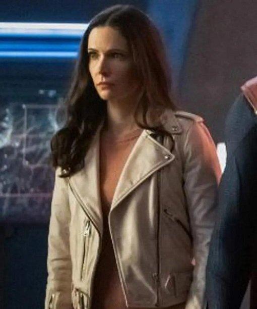 Superman and Lois Lane Leather Jacket