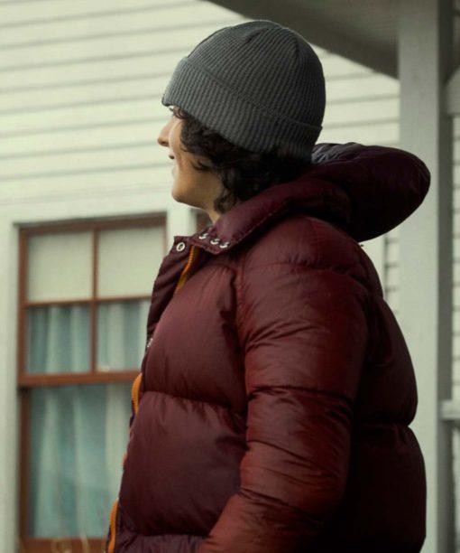 Hooded Collar Jacket
