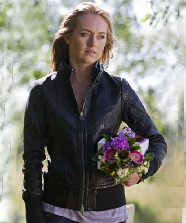 Amy Fleming TV Series Heartland Leather Jacket