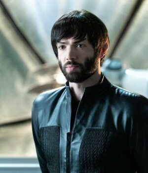 TV Series Star Trek Discovery Ethan Peck Trench Coat Front