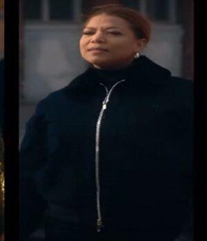 Queen Latifah Cotton Black Jacket