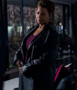The Equalizer 2021 Robyn McCall Black Leather Coat
