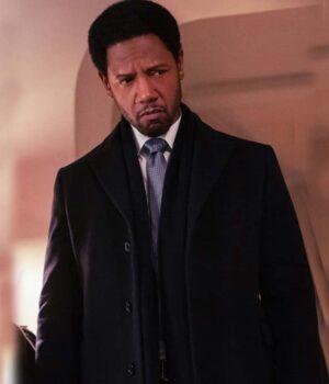 The Equalizer Detective Marcus Dante Viscose Coat