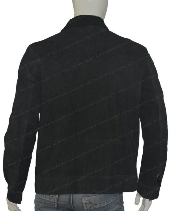 The Expanse Wes Chatham Black Jacket Back