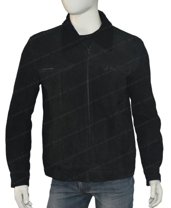 The Expanse Wes Chatham Black Jacket Front