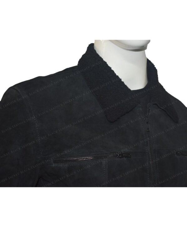The Expanse Wes Chatham Black Jacket Half