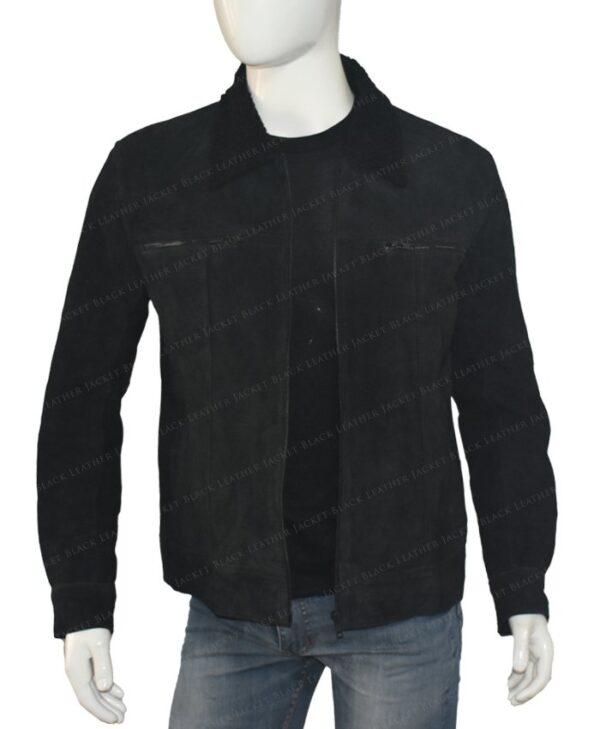 The Expanse Wes Chatham Black Jacket Inside