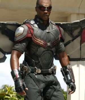 Silver Red The Falcon And The Winter Soldier Vest
