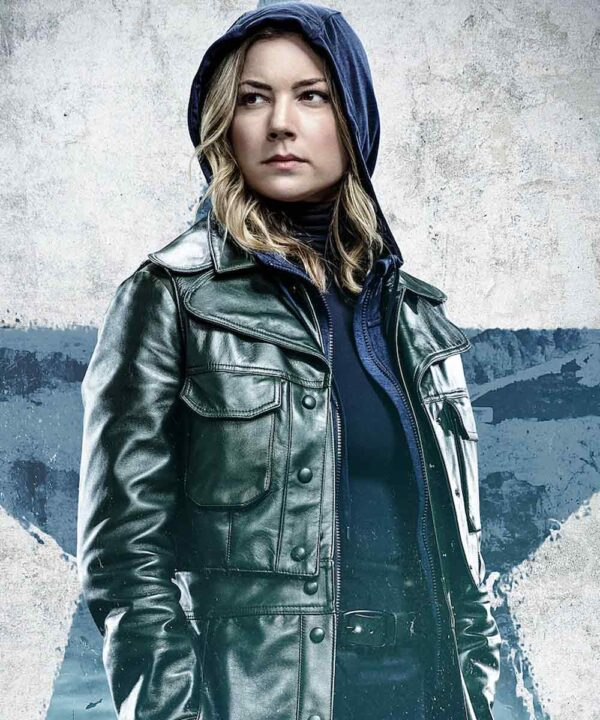 Sharon Carter The Falcon and the Winter Soldier Leather Jacket