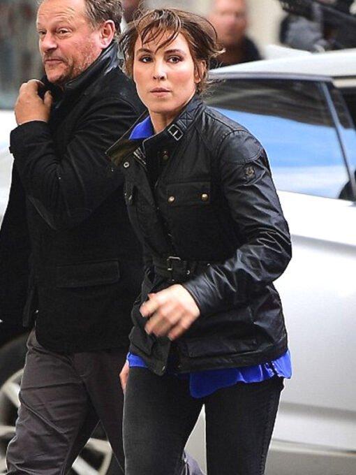 Tom-Clancys-Jack-Ryan-Harriet-Baumann-Black-Leather-Jacket