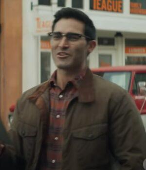 Tyler Hoechlin Superman and Lois Brown Jacket