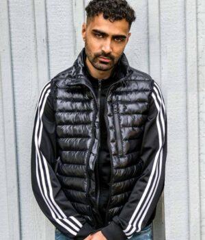 Salim Snabba Cash Black Parachute Vest