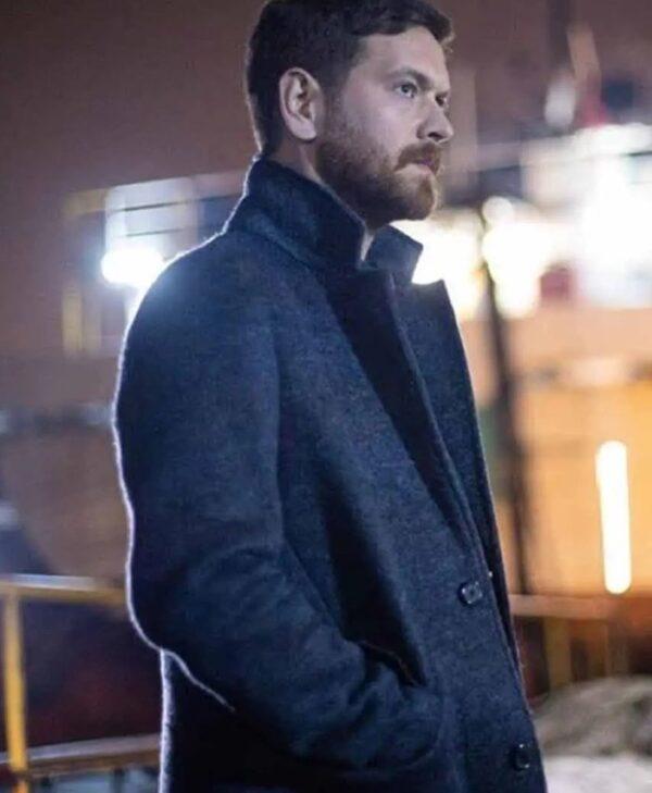 Engin Öztürk 50M2 Wool blend Grey Coat