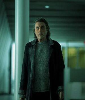 American Gods S03 Ian McShane Black Coat