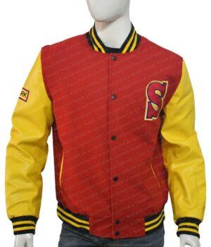 Clark Kent Crows Smallville Varsity Cotton Jacket